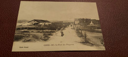 Ancienne Carte Postale - Giens - Le Pont Des Pesquiers - Gien