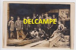 Usine Fives Lille Ateliers De Construction Mécanique De Train De Rails Et Chemin De Fer METIERS Carte Photo CPA - Industrie
