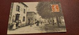 Ancienne Carte Postale - Chaintré - La Place - Other Municipalities