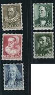 Niederlande Michel Nummer 313-317 Postfrisch - Unused Stamps