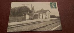 Ancienne Carte Postale - Ouges - La Gare - Sonstige Gemeinden