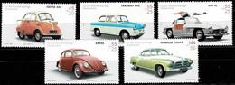 Bund 2002,Michel# 2289 -2293 **  Wohlfahrt: Oldtimer-Automobile - Unused Stamps