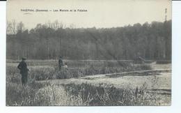 80 THIEPVAL   Feldpost   Les Marais Et La Falaise - Other Municipalities
