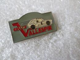 PIN'S    RALLYE  VALLESPIR   LANCIA  DELTA  S 4 - Rallye