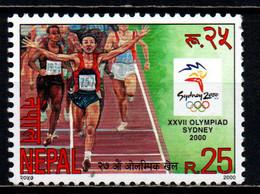 NEPAL - 2000 - OLIMPIADI DI SYDNEY - MNH - Nepal