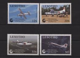 Lesotho, Flugzeuge, MiNr. 752-755, Postfrisch / MNH - Lesotho (1966-...)
