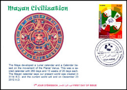ARGELIA 2015 - Maya Calendar Planets Calendrier Time Mythology  Earthquake Earthquakes - Astronomy