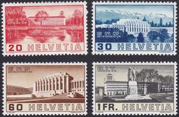 SUISSE, 1938,  Palais De La Société Des Nations (Yvert 307 Au 310)) - Nuevos