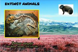 Vignettes De Fantaisie, Extinct Animals : Lagomorpha, Prolagus Oeningensis - Fantasy Labels