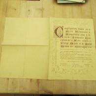 Hoogstraten 1882 Petit Séminaire - Diplômes & Bulletins Scolaires