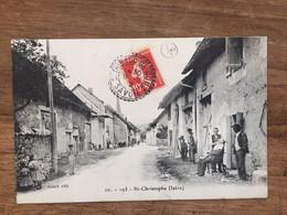 SAINT-CHRISTOPHE  (Isère)  -Cachet De St THIBAUD DE COUZ -SAVOIE - Other Municipalities