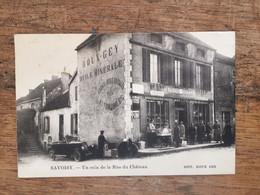 SAVOISY -Un Coin De La Rue Du Chateau - Cachet De Savoisy - Other Municipalities