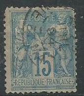 France N° 101 Obl - 1876-1898 Sage (Type II)