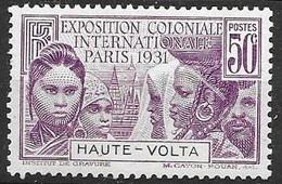 Haute Volta Mnh Nsc ** 1931 7 Euros - Nuovi
