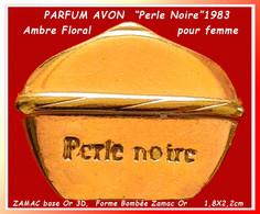 """SUPER PIN'S """"AVON"""""""" : """"GRAGANCE PARFUM AVON"""" Pour Femme En ZAMAC Base Or 3D Format 2,3X1,3cm  Nez Jean SUBRENA - Profumi"""