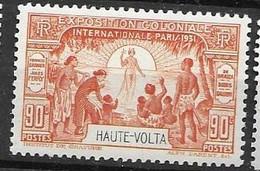 Haute Volta Mlh * Tres Petite Trace De Charniere 5,30 Euros - Nuovi