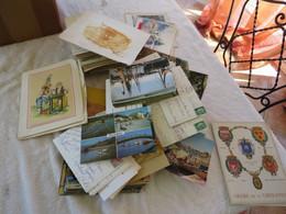 Boite Décante Postale Moderne - 500 Postcards Min.
