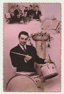 Carte Fantaisie Ste Cécile - Hommes - Orchestre - Tambour - Batterie... - Música Y Músicos
