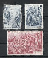 S.M.O.M.- 1968 - Natale - 3 Valori - Nuovi ** - (FDC30214) - Malte (Ordre De)