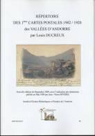 ANDORRE  ANDORRA :répertoire (A4) De 56 Pages,clichés Des 1 éres CPA De 1902 A 1920 - Andorre