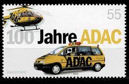 Bund 2003,Michel# 2340 ** 100 Jahre ADAC - Unused Stamps