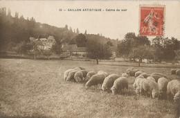CPA - CPA  - Gaillon Artistique -  Calme Du Soir - Otros Municipios