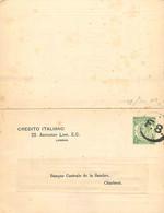 UK.  Post Card Stamped To Order CS 42 (Huggins)  London F.8. > Charleroi Belgium - Stamped Stationery, Airletters & Aerogrammes