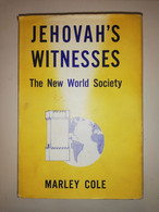 Rare Jehovah's Witnesses The New World Society Marley Cole 1955 Watch Tower Bible Jéhovah - Altri