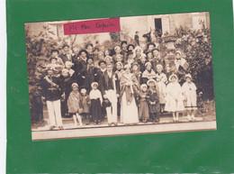 23-SAINTE-FEYRE -CARTE-PHOTO FÊTE De SAINTE-FEYRE- CAVALCADE 24 Août 1930- - Other Municipalities