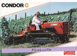 CS14 Publicité 2 Pg Tracteur Agricole SAME Condor C Moissy Gramayel Tréviglio Tractor Trattori Traktor Brochure - Agriculture