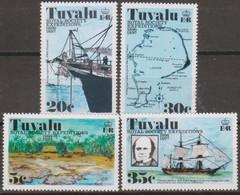 Tuvalu Oceania 1977 MiN°54/47 4v Cpl Set MNH/** Vedere Scansione - Tuvalu