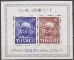 Tuvalu Oceania 1981 MiN°152 Block 6 MNH/** Vedere Scansione - Tuvalu