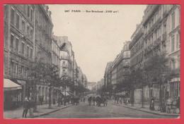 CPA-PARIS - Rue BROCHANT - Ann.1910 * Scan Recto/Verso - District 17