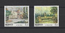 MONACO.  YT  N° 1832/1833  Neuf **  1992 - Unused Stamps