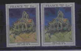 2054 B  Couleur Orange Au Lieu De Jaune - 1 Normal Livré Prix Bas - Kuriositäten: 1970-79 Ungebraucht