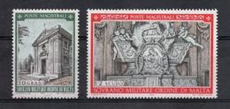 S.M.O.M.- 1970 - Natale - 2 Valori - Nuovi ** - (FDC30215) - Malte (Ordre De)