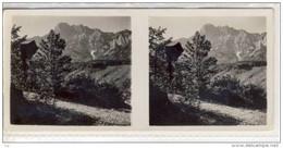 Stereo Photographie,  Steiermark, Haller Mauern Mit Marterl, Stereoskopie, Stereoscope - Photos Stéréoscopiques