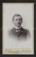CDV / Photo / Carte-de-visite / Homme / Man / Alexandre Rahier / Photographe / F. Dumoulin / Herve / 2 Scans - Oud (voor 1900)