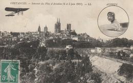 COUTANCES - Souvenir Des Fêtes D'Aviation (4et 5 Juin 1911) - AUBRUN - Piloten
