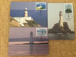 Carte Maximum Phare, Irish Lighthouses X 4 Éire - Maximumkarten