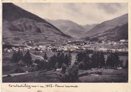 Pontedilegno - Panorama Viaggiata 1937 - Brescia