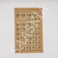 #VP36 - France PAIN Ticket Rationnement Sans Cachet Septembre - Historical Documents