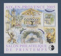 CNEP-2005-N°43** AIX EN PROVENCE2005 .Salon Philathélique De AIX EN PROVENCE - CNEP
