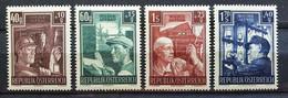 """Österreich 1951, Mi 960-63 """"Wiederaufbau"""" MNH Postfrisch - 1945-60 Unused Stamps"""