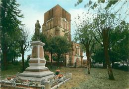 CPM - BEAUVAIS-SOUS-MATHA - ÉGLISE ET MONUMENT AUX MORTS - Otros Municipios