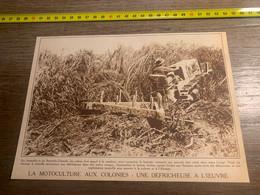 1929 PATI2 Motoculture Aux Colonies Défricheuse Au Congo - Non Classés