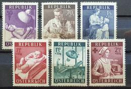 Österreich 1954, Mi 999-1004 MNH Postfrisch - 1945-60 Ongebruikt