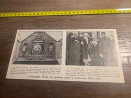 1929 PATI2 Hommage Fleurs Cadeaux Pour Marie-José Dante Alighieri - Non Classés