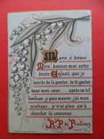 Allier Image Pieuse Religion Catholique 1892 - Ed. Maignault  - 1ère Série - R.P. De POUEVOY - Religion & Esotérisme
