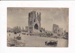Militaire - Militaria : Guerre 1914-18 : YPRES - Belgique : Halle Aux Draps, Beffroi, Cathédrale : édit. Arco - Arcovici - Guerra 1914-18